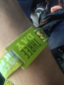 Austin City Limits Festival 2012 music wristband