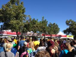 Waiting to get into ACL