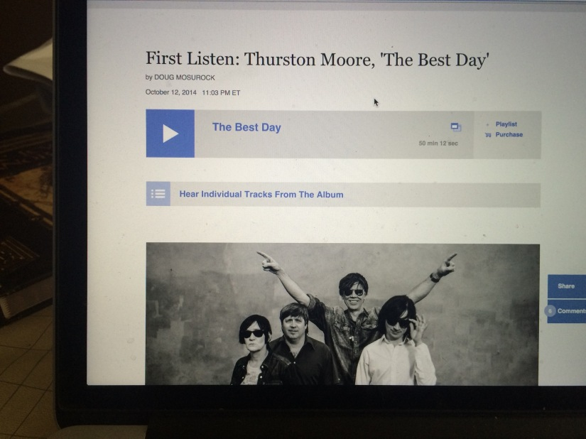 Thurston Moore 'The BestDay'